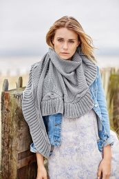 Urchin Wrap - Free with 8 or more skein purchases of Softyak DK (PDF File)