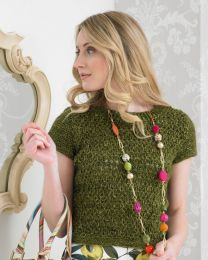 Dainty Fitted Top- This pattern is included in the Noro Boutique Book (Price is for the whole book)