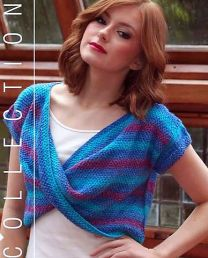 Daisy Twisted Top - FREE with Purchases of 4 or More Skeins of Sunshine Coast/Please add to cart for a PDF copy