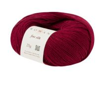 Rowan Fine Silk - Deepest Red (Color #108)