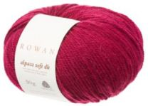 Rowan Alpaca Soft DK - Deep Rose (Color #206)