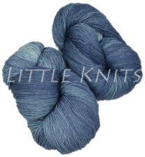 Marjaana Hand-dyed by Fly Designs for Little Knits - Denim
