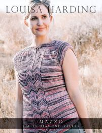 A Mazzo Pattern - Diamond Valley Tee FREE with Purchases of 5 or more skeins of Mazzo (One Pattern for each 5 Skein Purchase Please)