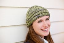 August 2010 Dream in Color Dream Club Free Pattern - Airy Hat
