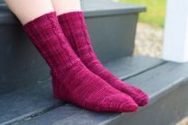November 2010 Dream in Color Dream Club Free Pattern - Simply Twisted Sock