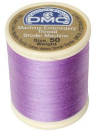 DMC Machine Embroidery Thread, Size 50 - Lilac (Color #209)