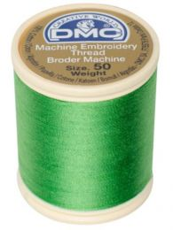 DMC Machine Embroidery Thread, Size 50 - Chartreuse  (Color #702)