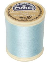 DMC Machine Embroidery Thread, Size 50 - Seafoam (Color #747)