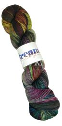Dream in Color Smooshy with Cashmere - Charcoal Prismatic (Color #574)