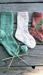 Knitting Pure and Simple - Easy Children's Socks