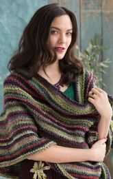 Noro Kureyon Air and Silk Garden Sock Solo - Infinity Cowl Pattern