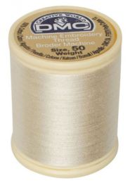 DMC Machine Embroidery Thread, Size 50 - Ecru