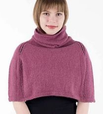 Egalite Poncho - A Juniper Moon Stargazer Pattern - FREE WITH PURCHASES OF 3 OR MORE SKEINS OF Stargazer (PDF File)