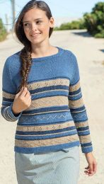 Jeanie - Free pattern for Berroco Elba - LINK TO DOWNLOAD IN DESCRIPTION