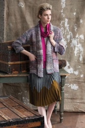 Elbow Length Cardi - Free with Noro Kiso purchase of 6 or more skeins