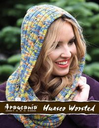 Ellena Hooded Cowl - Free Download with Purchase of 3 or More Skeins of Huasco Worsted