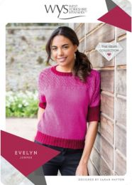 Evelyn Jumper - Free with WYS Yarn Purchase (One Free Pattern Per Purchase/Person Please)