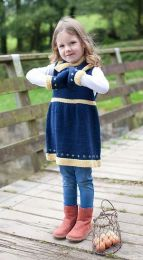 Fair Isle Pinafore, Mitts, Cowl & Leg Warmers - Free with WYS Yarn Purchase (One Free Pattern Per Purchase/Person Please)
