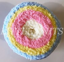 James C. Brett Fairy Cakes DK - Easter Rainbow (Color #FC1)