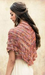 Farfalla Shawl - Free with purchases of 2 or More skeins of Mana (PDF File)