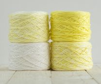 Feza Baby Gradient Blanket Kit - White to Yellow (Item #516)