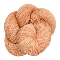 Silky Sheep Hand-Dyed - Apricot Flower