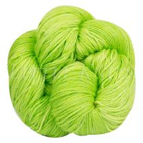 Silky Sheep Hand-Dyed - Lime Flash - (Color #10 AL1)