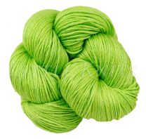 Silky Sheep Hand-Dyed - Sour Apple Candy - (Color #11 AL2) - 95 Gram