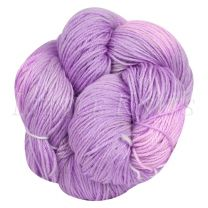 Silky Sheep Hand-Dyed - Periwinkle Dream - (Color #38 BL2) - 95 gram skein