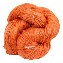 Silky Sheep Hand-Dyed - Tasty Tangerine - (Color #402 BL2)