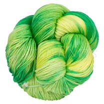 Silky Sheep Hand-Dyed - Limeade - (Color #618 BL1)
