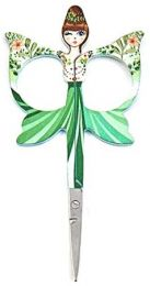 Embroidery Angels Scissors - Floral Green