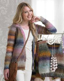 Fragrance Jacket- This pattern is included in the Noro Boutique Book (Price is for the whole book)