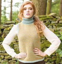Illustrious - Beatrice Hound's-tooth Vest - FREE PATTERN LINK TO DOWNLOAD IN DESCRIPTION (No Need to add to Cart)