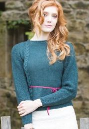 Illustrious - Elizabeth Braid Cable Jumper - FREE PATTERN LINK TO DOWNLOAD IN DESCRIPTION (No Need to add to Cart)