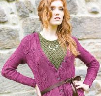 Illustrious - Juliet Leaf Cardigan - FREE PATTERN LINK TO DOWNLOAD IN DESCRIPTION (No Need to add to Cart)