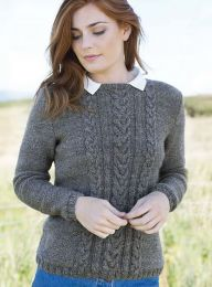 Illustrious - Pandora Mixed Cables Jumper - FREE PATTERN LINK TO DOWNLOAD IN DESCRIPTION (No Need to add to Cart)