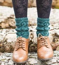 Illustrious - Willow Cable Moss Socks - FREE PATTERN LINK TO DOWNLOAD IN DESCRIPTION (No Need to add to Cart)