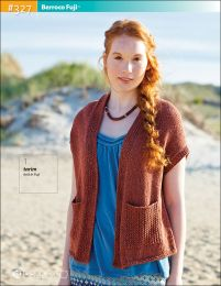 Tarim (on Cover) - Included in the Berroco Fuji Book #327 (purchase only one copy for all patterns shown)