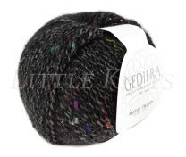 Gedifra Metal Tweed - Black (Color #753)