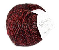 Gedifra Metal Tweed - Cherry (Color #758)
