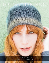 Glacier Bay Beanie - Free Download with Purchase of 1 Skein of Amitola (Please add to cart)