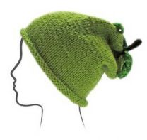 Euro Baby Fruits & Veggies Hat Kits - Green Apple (Color #04) - Knitting Pattern