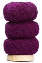 Geilsk Thin Wool - Plum Purple (Color #05)