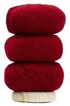 Geilsk Thin Wool - Ruby (Color #10)