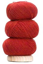 Geilsk Thin Wool - Chili Red (Color #13)