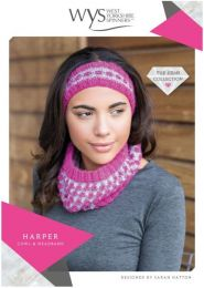 Harper Cowl and Headband - Free with WYS Yarn Purchase (One Free Pattern Per Purchase/Person Please)