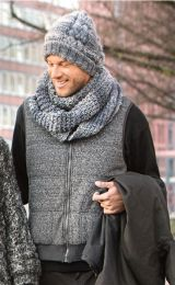 Men's Hat and Cowl
