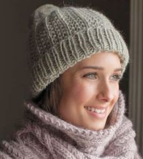 Yepa Hat - Included in the Rowan Timeless Cocoon Pattern Booklet