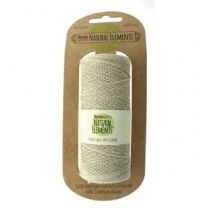 Beadsmith Natural Elements - Natural - 50 Gram Spool, 20lb Test (Item #HEMP20)
